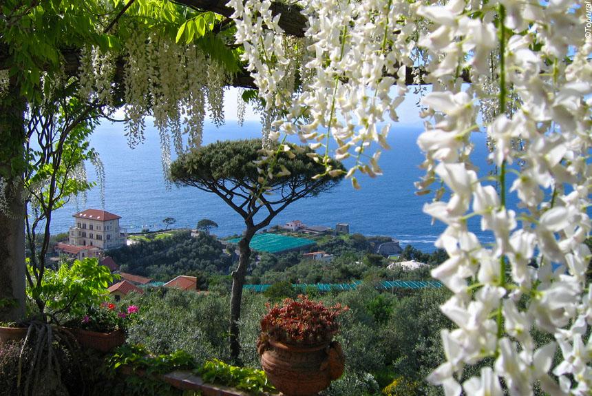 Voyage à pied Italie : Campanie,  Naples et la côte Amalfitaine