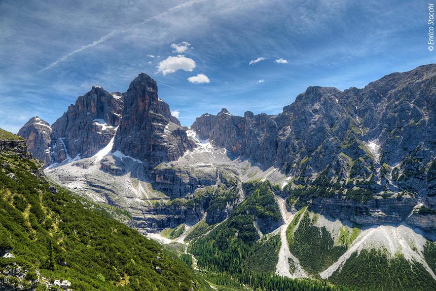 Image Des Dolomites de la Brenta au lac de Garde