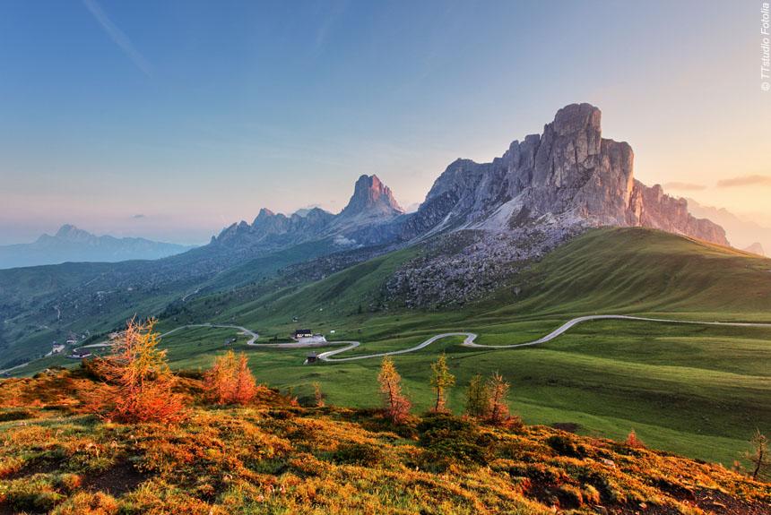 Voyage à pied Italie : Val di Funés, au coeur des Dolomites.