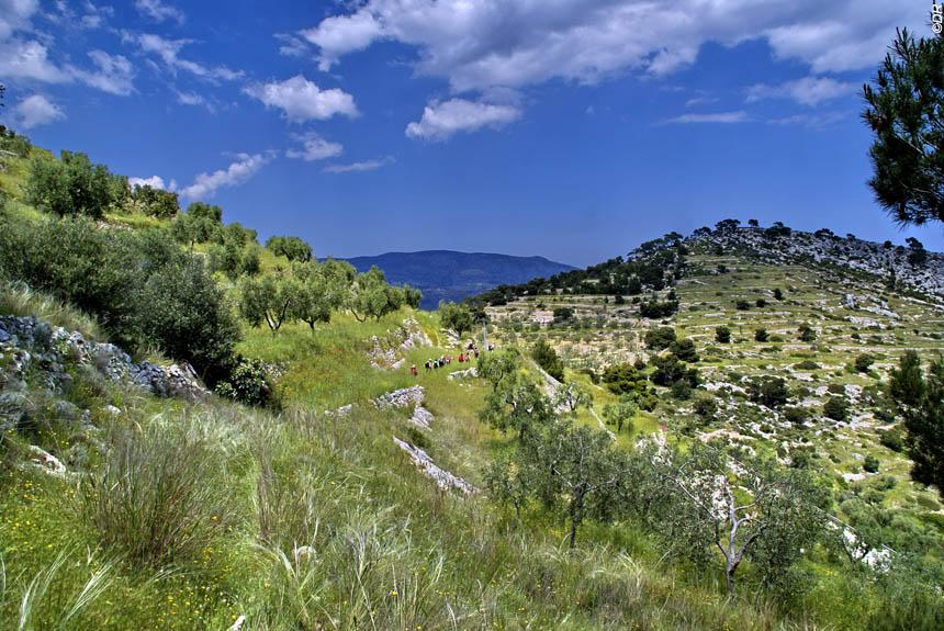 Voyage à pied : Pouilles,  du promontoire du Gargano aux \'\'trulli\'\' d\'Alberobello