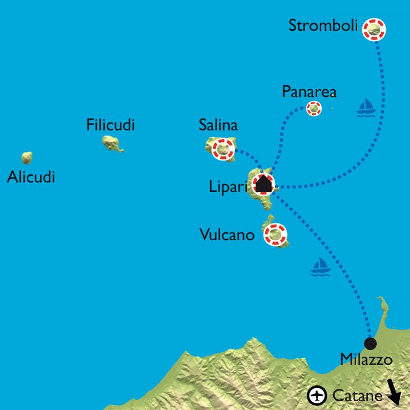 Randonn 233 E Sicile Iles 201 Oliennes Etna