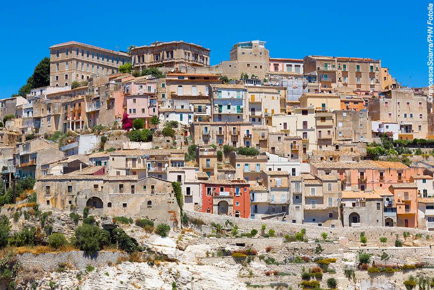 Voyage à pied Italie : Sicile, J\'aimerais tant voir Syracuse...