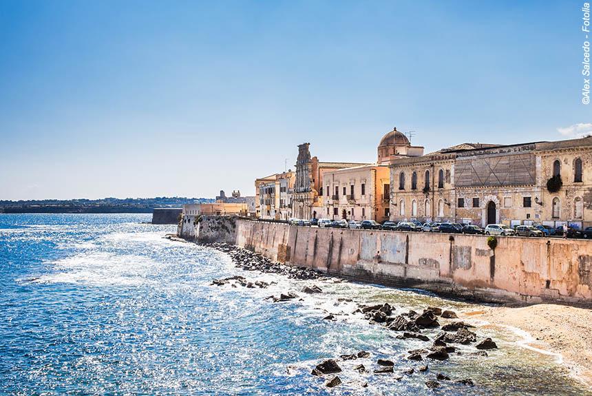 Image Sicile, J'aimerais tant voir Syracuse...