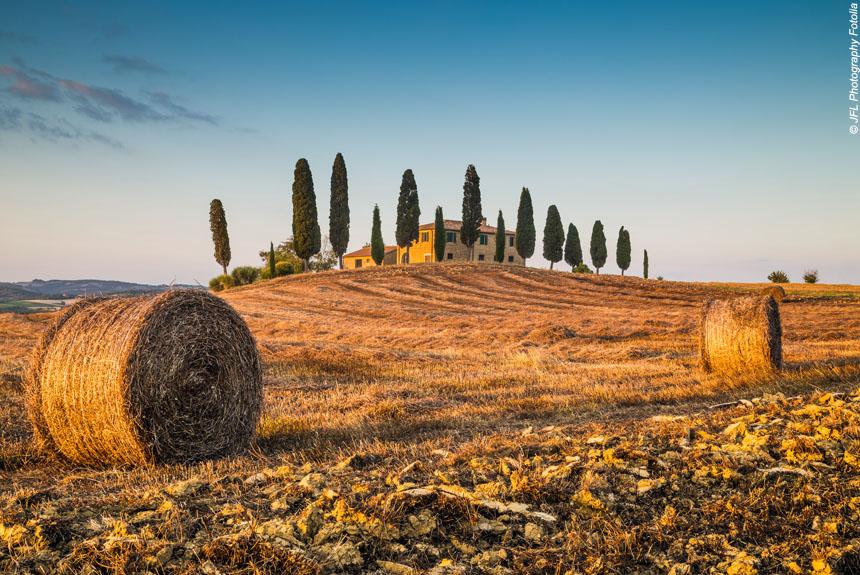 Voyage à pied : Terres de Sienne