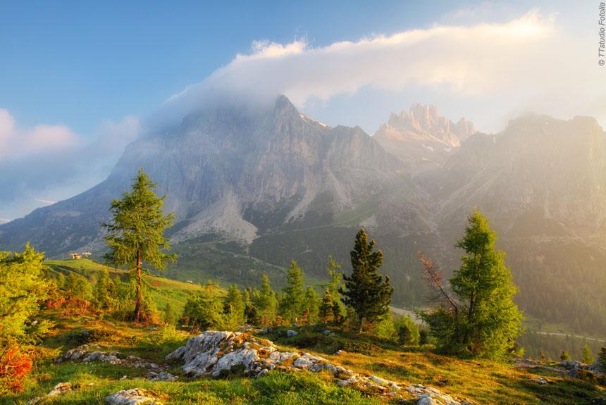 Voyage à pied Italie : Les Dolomites, les Citadelles de roc