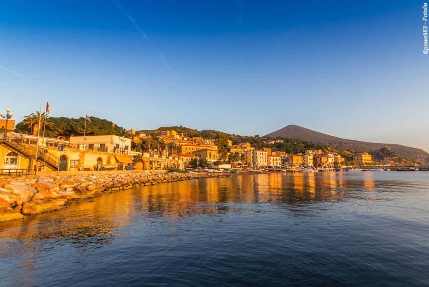 Voyage à pied Italie : Île d\'Elbe, la perle de Vénus