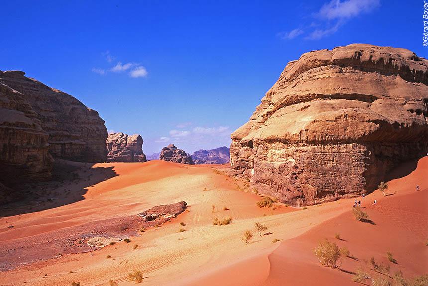 Voyage à pied Jordanie : Le désert du Wadi Rum