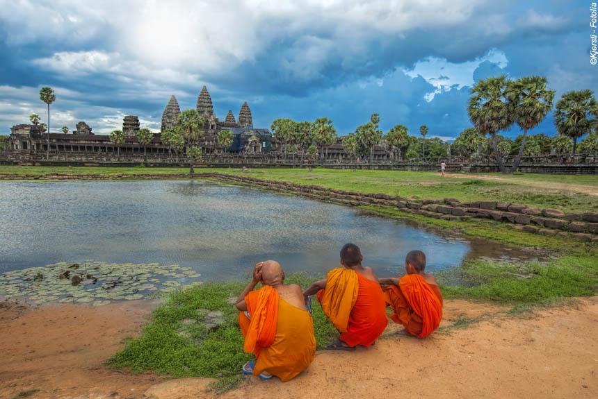 Voyage à pied : Angkor, la voie royale des temples oubliés
