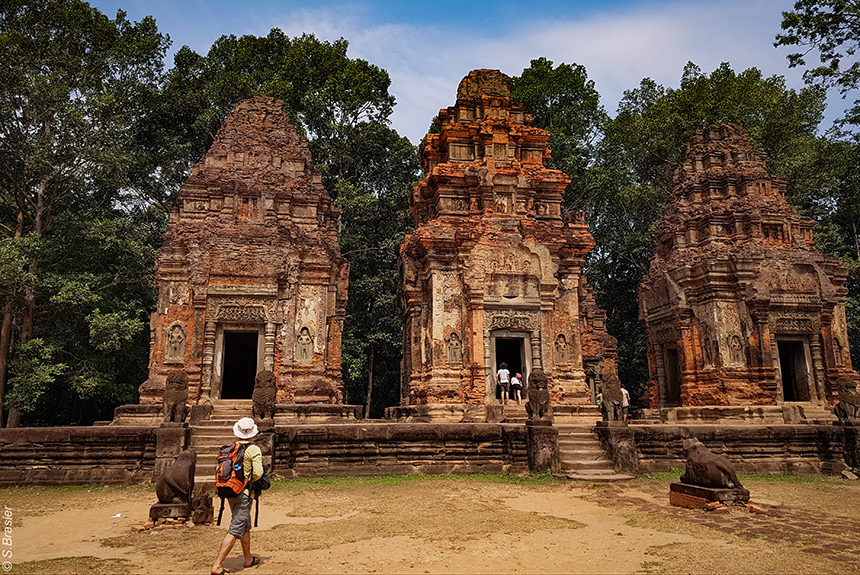 Voyage à pied : Cambodge, extension Angkor