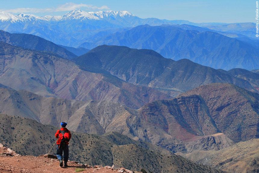 Voyage à pied : Des villages du Haut Atlas au sommet du Toubkal