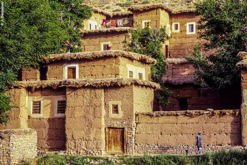 Voyage à pied Maroc : Aït Bougmez, Vallée heureuse