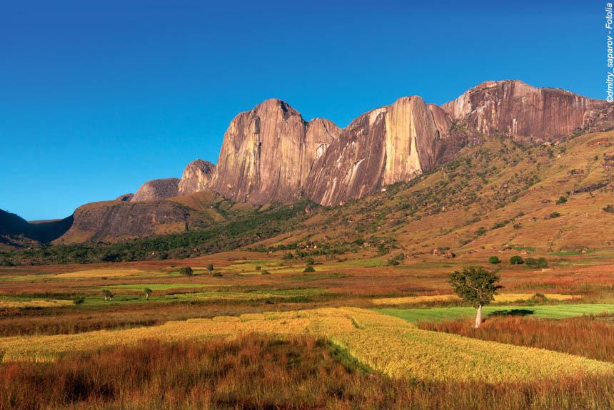 Voyage à pied Madagascar : Lalangasy, de la montagne à l\'océan