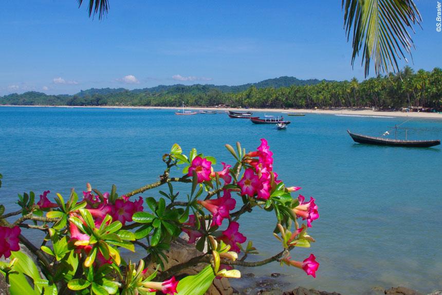 Voyage à pied Birmanie : BIRMANIE, extension Ngapali Beach
