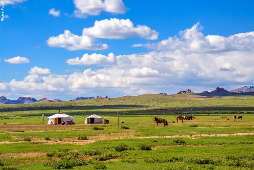 Voyage à pied Mongolie : De l\'Arkhangai au désert de Gobi