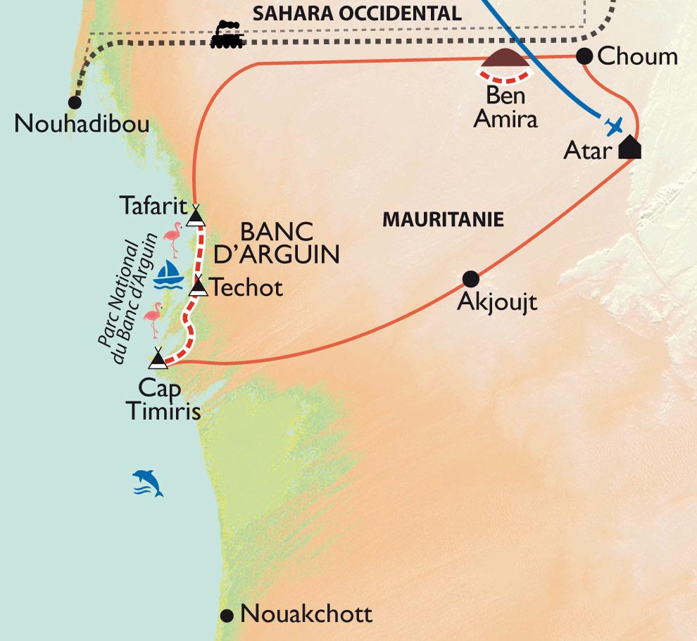 Randonnee Banc D Arguin Mauritanie
