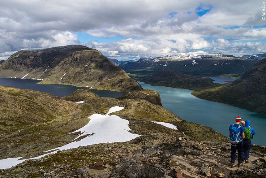 Voyage à pied Norvège : Tour du Jotunheimen, le royaume des géants