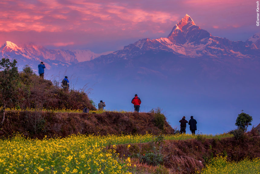 Voyage à pied : Le Grand Tour de l\'Annapurna