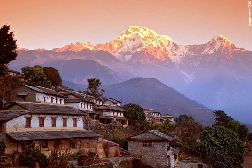 Voyage à pied Nepal : Le balcon des Annapurnas