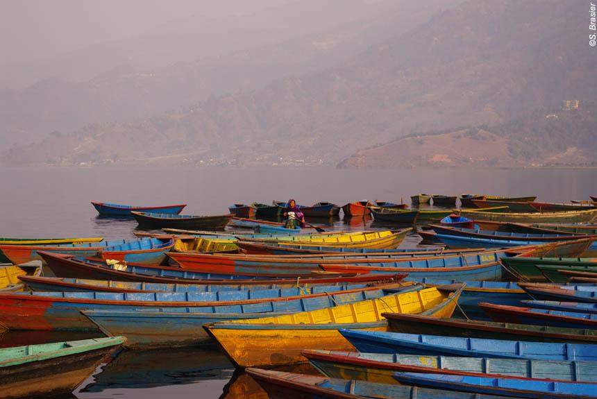 Image Des Annapurnas à Katmandou, à la croisée des chemins