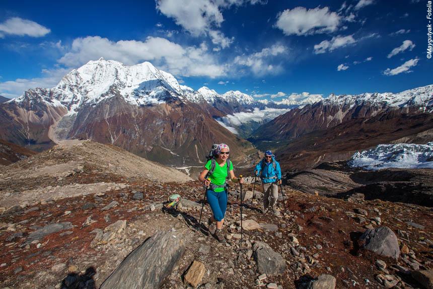 Voyage à pied Nepal : Tour du Manaslu