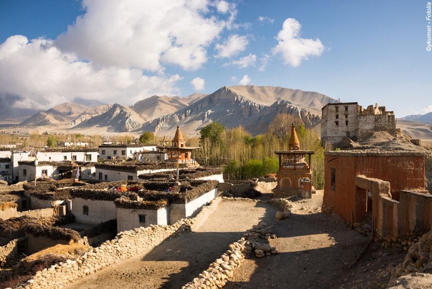 Voyage à pied Nepal : Royaume du Mustang