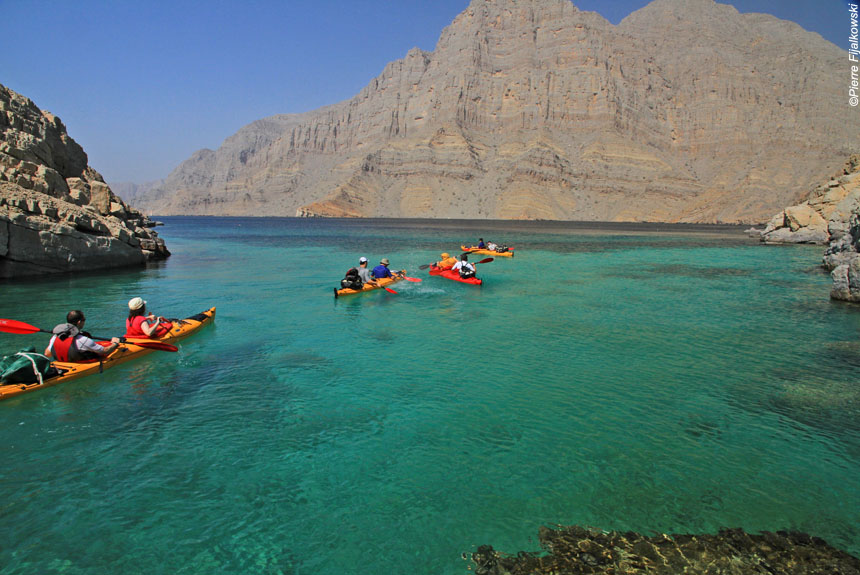 Voyage sur l'eau Oman : Kayak à Musandam