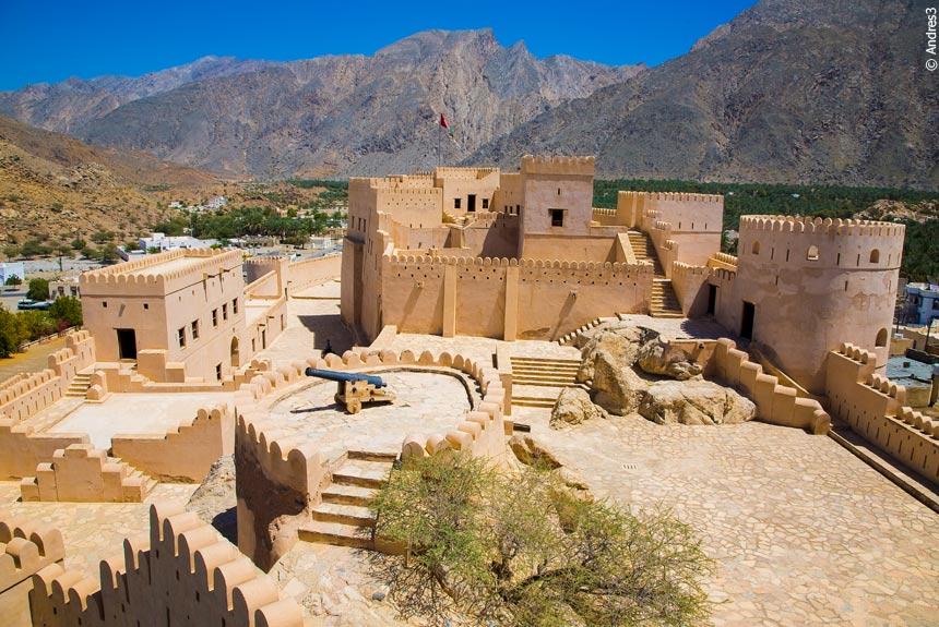 Voyage à pied Oman : Trek dans le Jebel Hajjar occidental