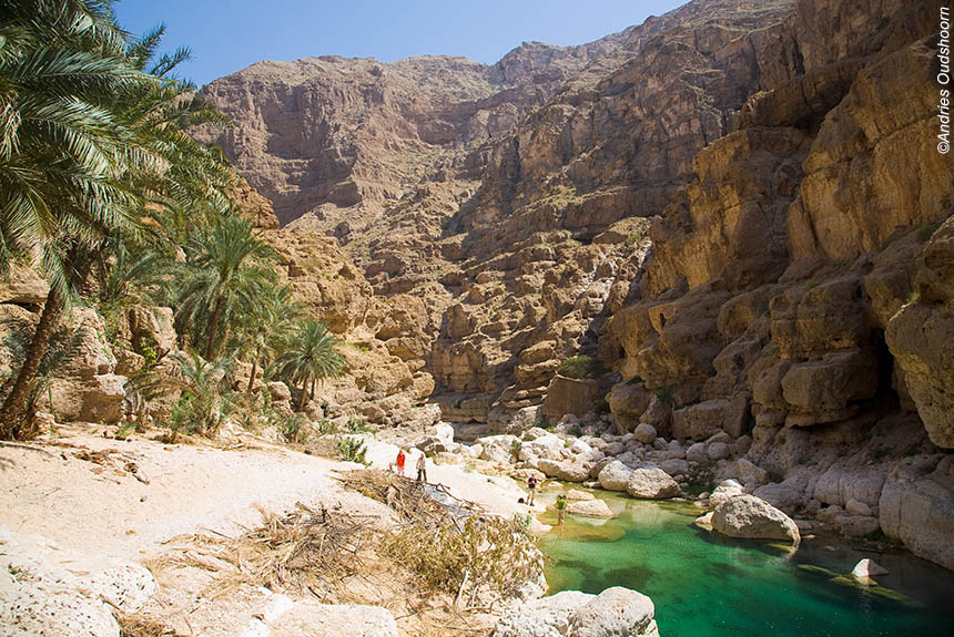 Voyage à pied : Le sultanat d\'Oman entre déserts et wadis