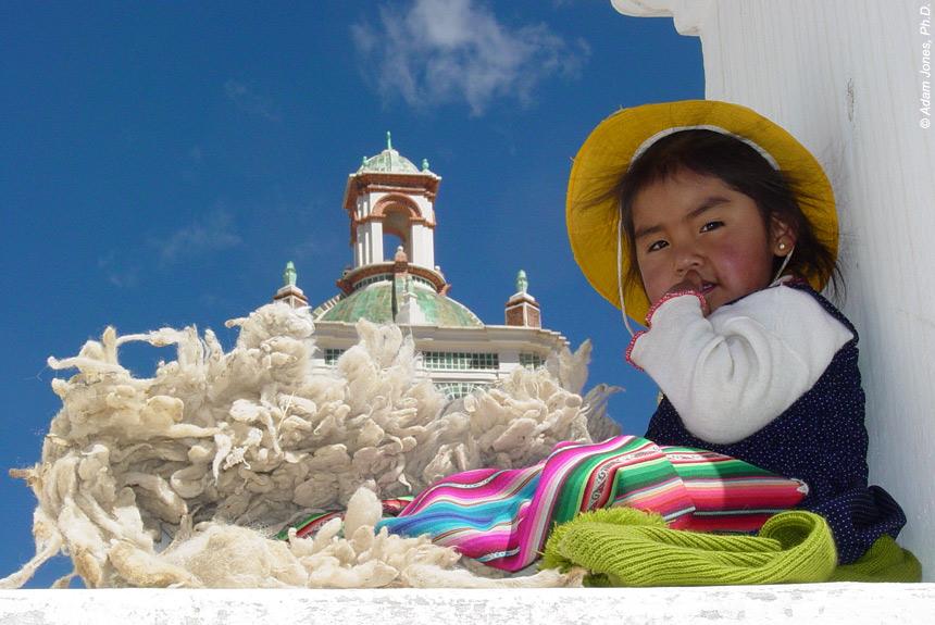 Voyage à pied : Des cités incas au désert de l\'Altiplano.
