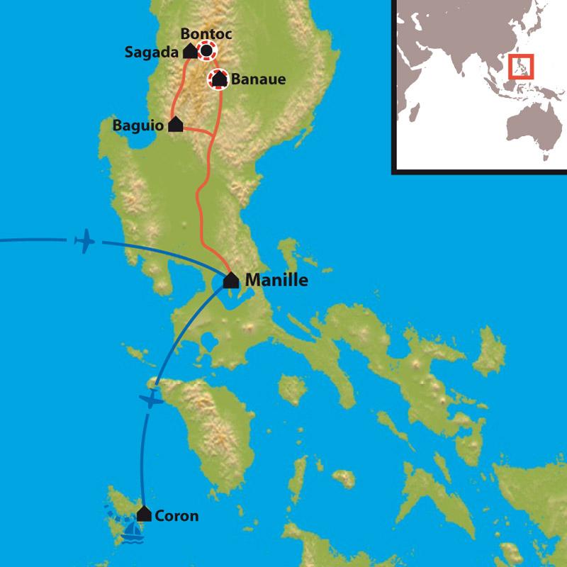 Le climat à Baguio (île de Luzon) aux Philippines en Octobre est-il favorable ?
