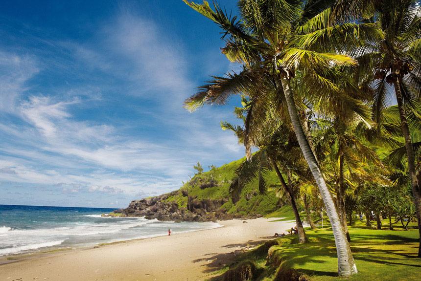 Voyage à pied Réunion : Volcan et lagon