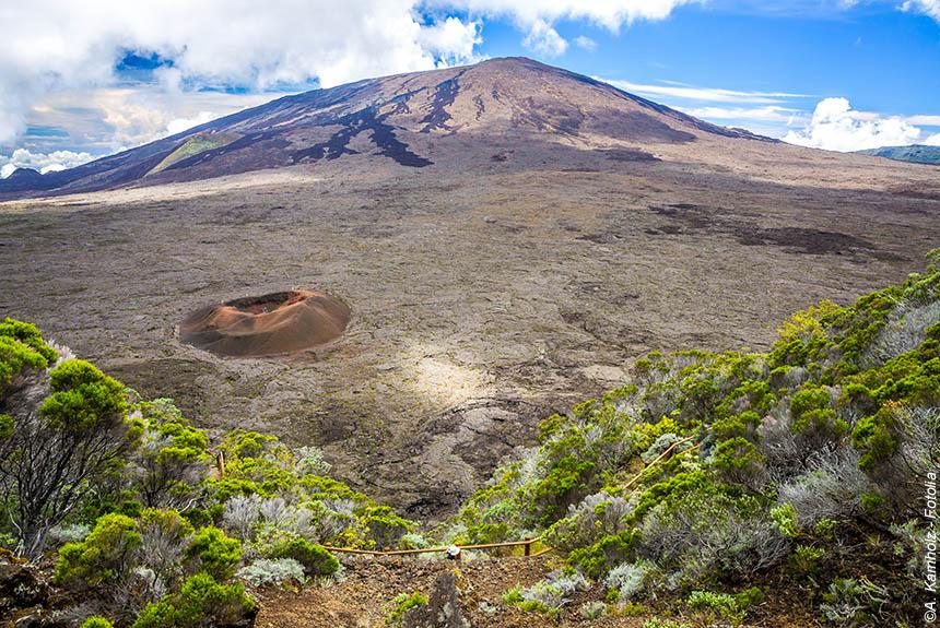 Image Volcan et lagon