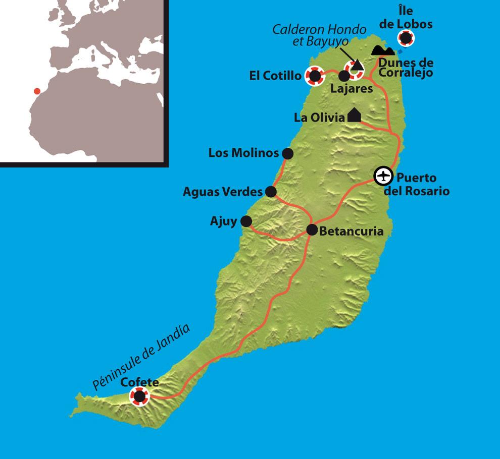 Randonnée Fuerteventura Canaries