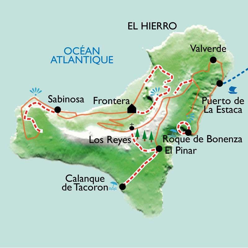 Itinéraire Hierro, la sauvage