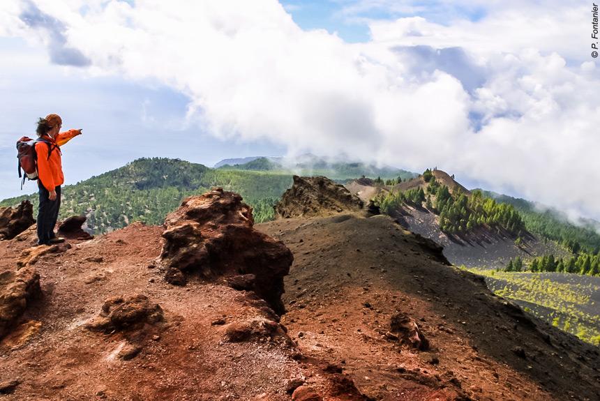 Voyage à pied Espagne : La Palma, la Isla verde