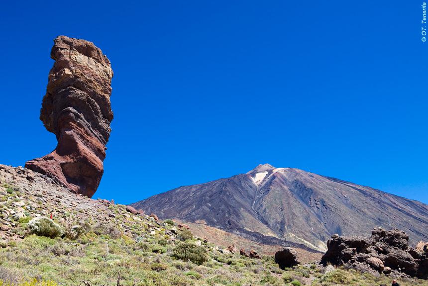 Voyage à pied Espagne : Tenerife, sur le chemin des Tabaïbas