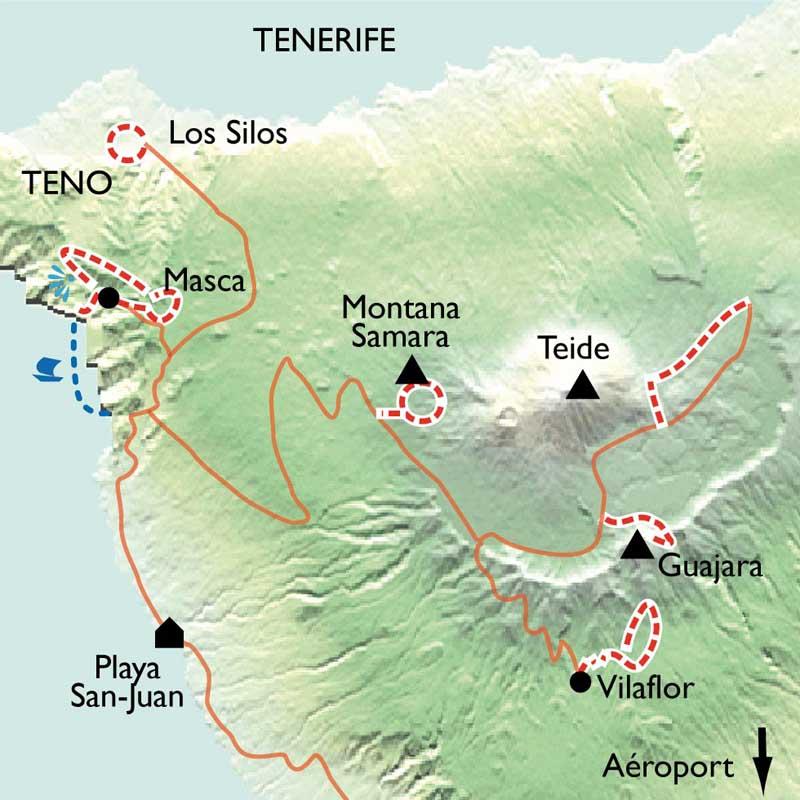 Itinéraire Tenerife, sur le chemin des Tabaïbas