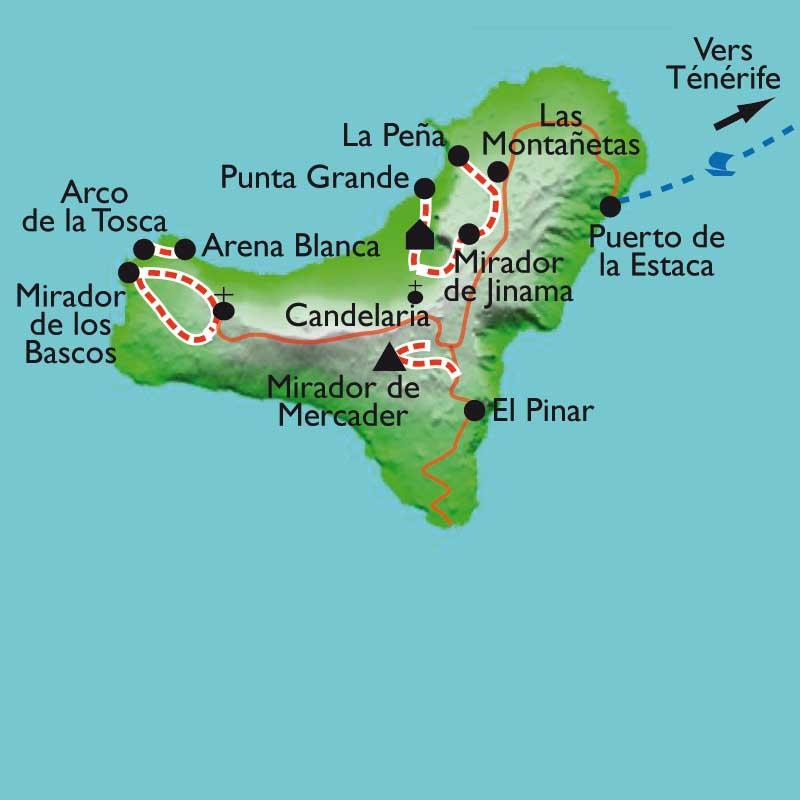Itinéraire Hierro, l'île du
