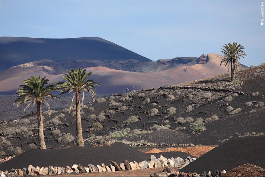 Voyage à pied Espagne : Lanzarote, des volcans sur l\'Océan