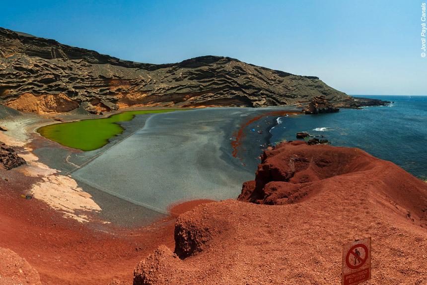 Image Lanzarote, des volcans sur l'Océan