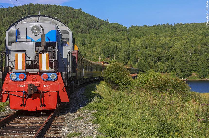 Voyage à pied : Russie  - le transsibérien de Moscou à Vladivostock