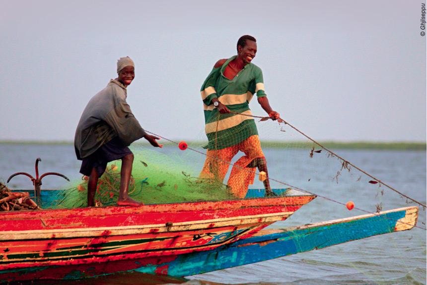 Voyage à pied : Rando-bateau dans le Siné Saloum