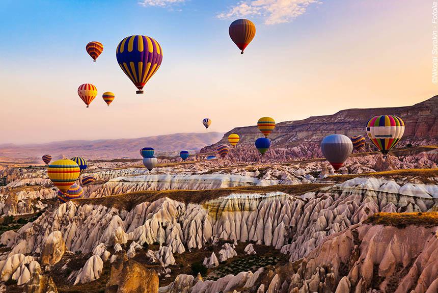 Voyage à pied Turquie : Sentiers de Cappadoce