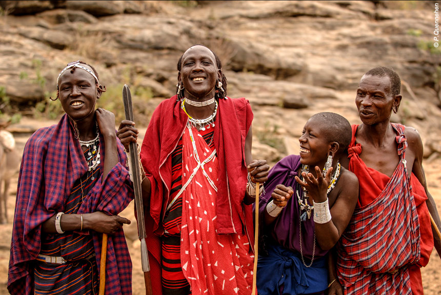 Voyage à pied : Terres masaï, rando, rencontres et safari