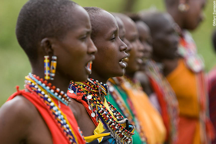 Image Massaïs et rêves de savane