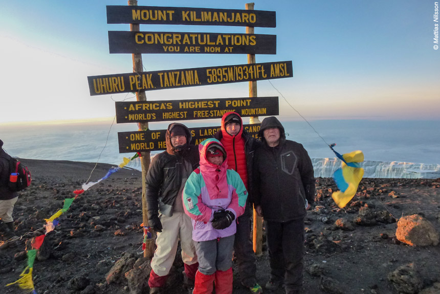 Image Ascension du Kilimandjaro.