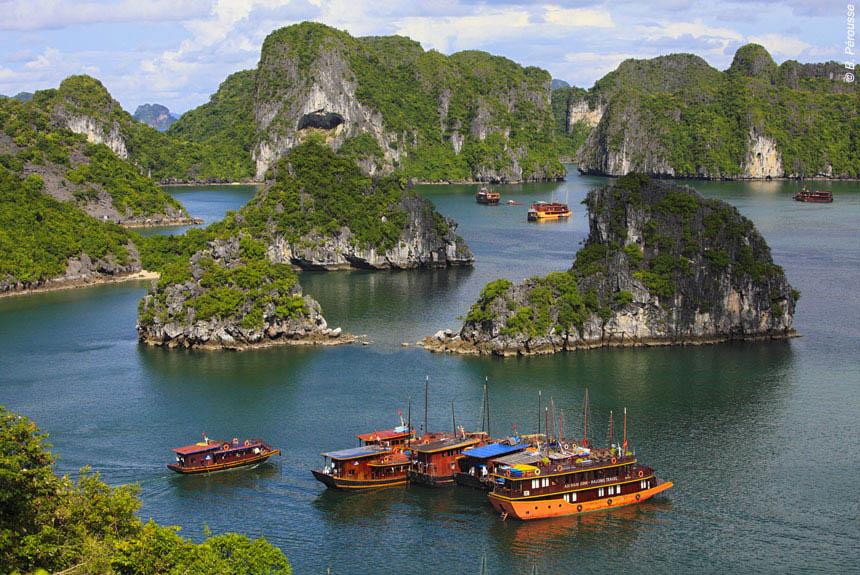 Voyage à pied : Voyage en Indochine...