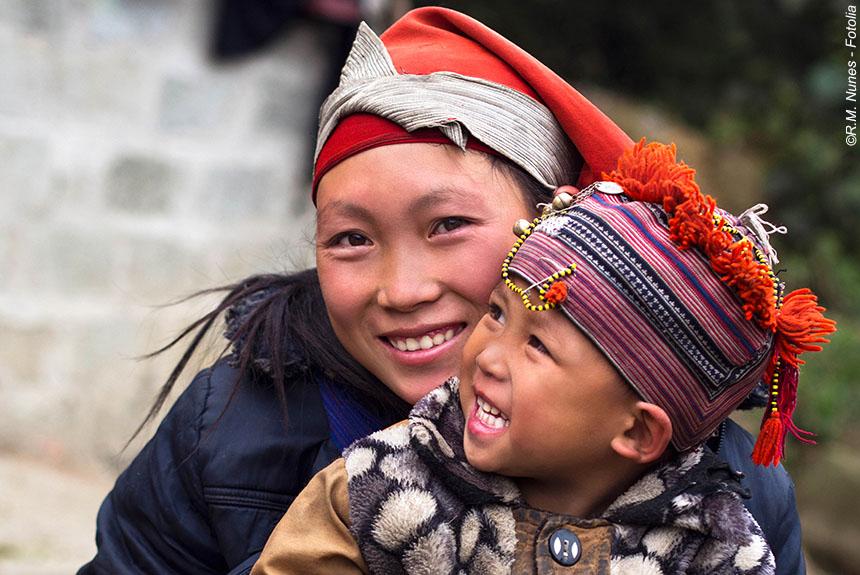 Voyage à pied Vietnam : Mosaïque de minorités en Tonkin