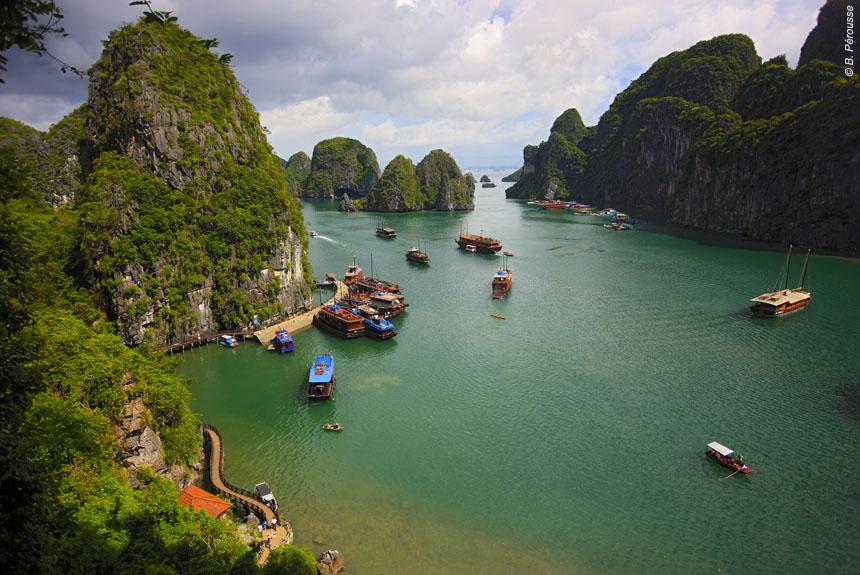 Voyage à pied : L\'Indochine du Nord au Sud