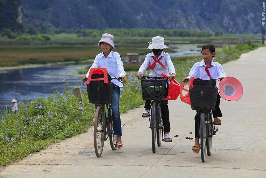 Voyage à pied Vietnam : Le Vietnam, On \